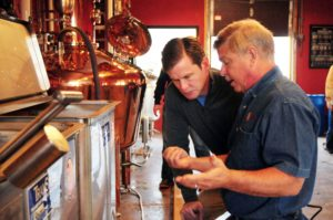 Education teaching Pete | Master Distiller